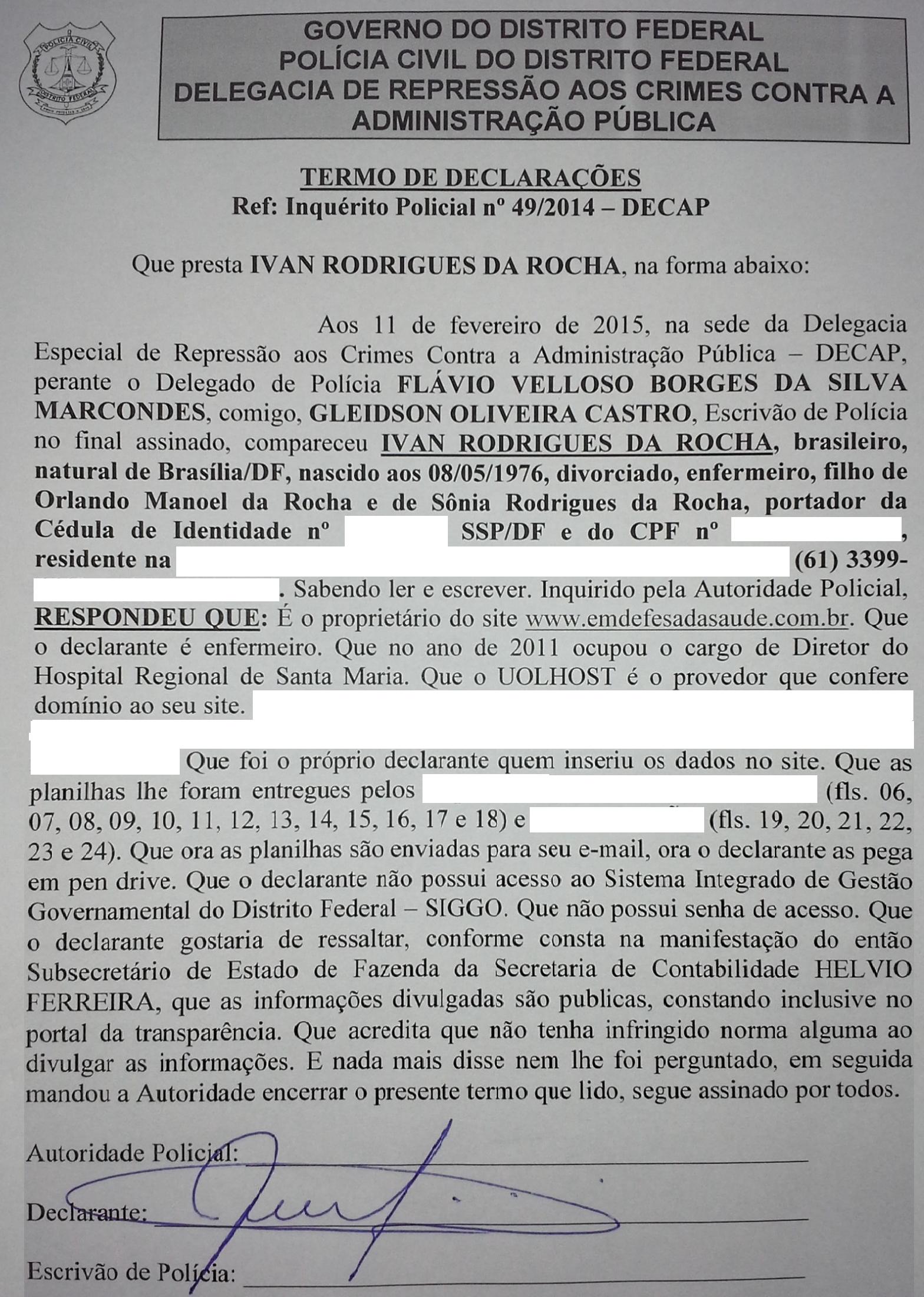 DECAP – DELEGACIA ESPECIAL DE REPRESSÃO AOS CRIMES CONTRA A ADMINISTRAÇÃO PÚBLICA