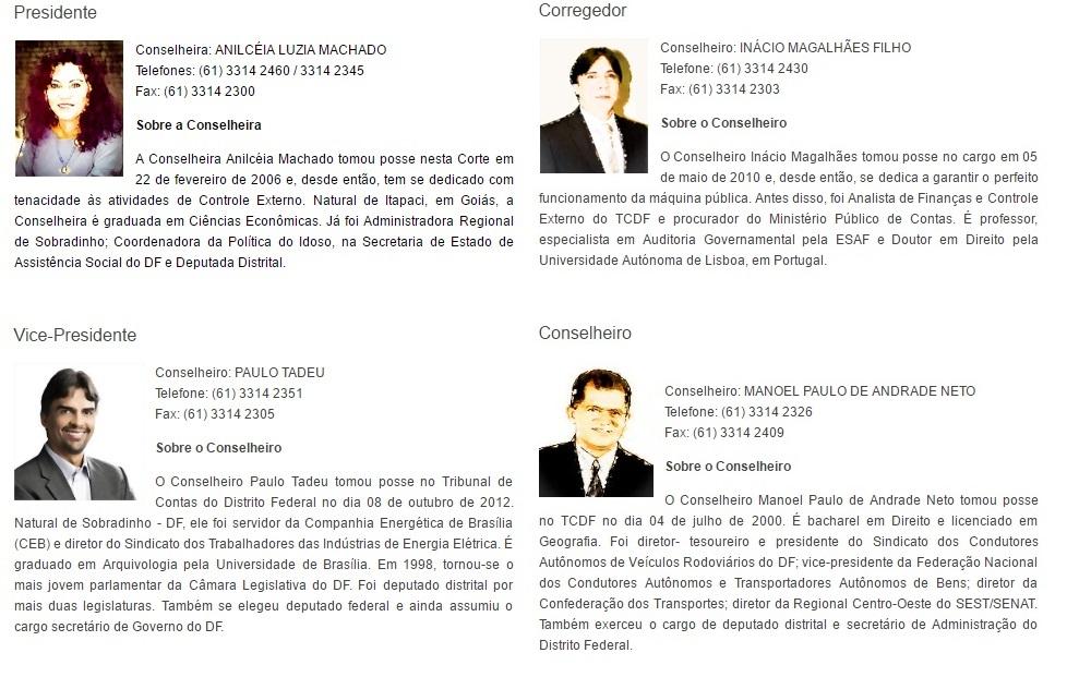 TCDF » Institucional » Plenário