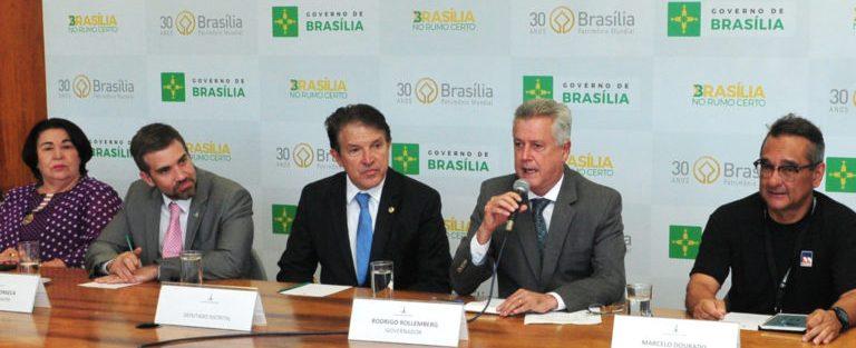 Rollemberg anuncia a nomeação de 1.183 vacância