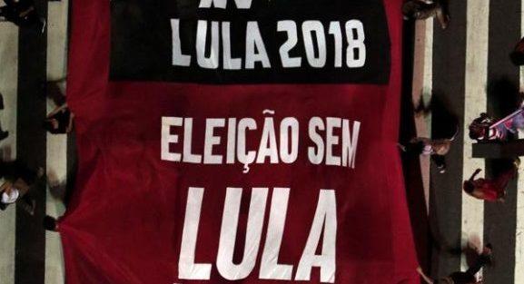 Lula está fora das eleições de 2018