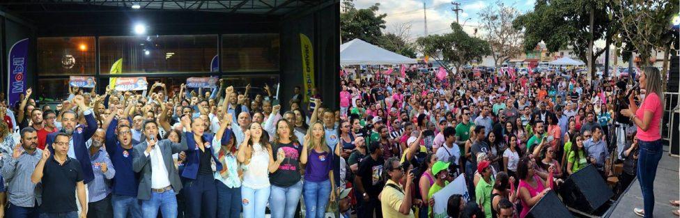 Com bases eleitorais consolidadas, os suplentes de deputados distritais: Roosevelt Vilela e Jaqueline Silva devem assumir em 2019