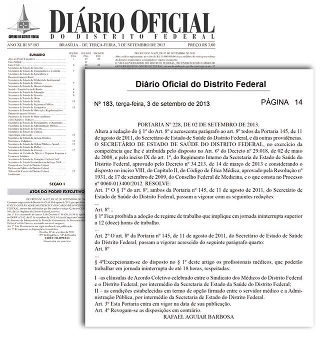 DODF - PORTARIA