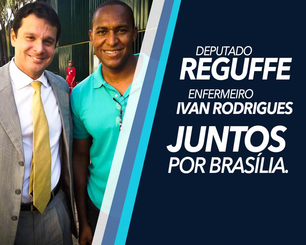 Reguffe e Ivan Rodrigues