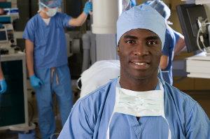 Acompanhante no centro cirúrgico