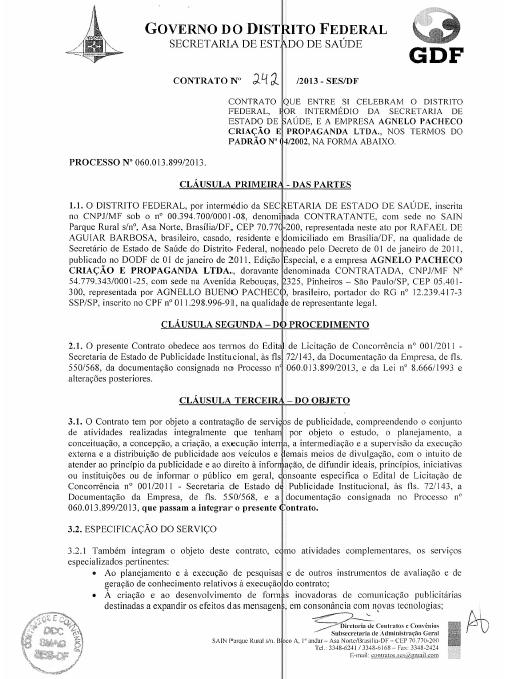 Agnelo Pacheco Criação e Propaganda  LTDA