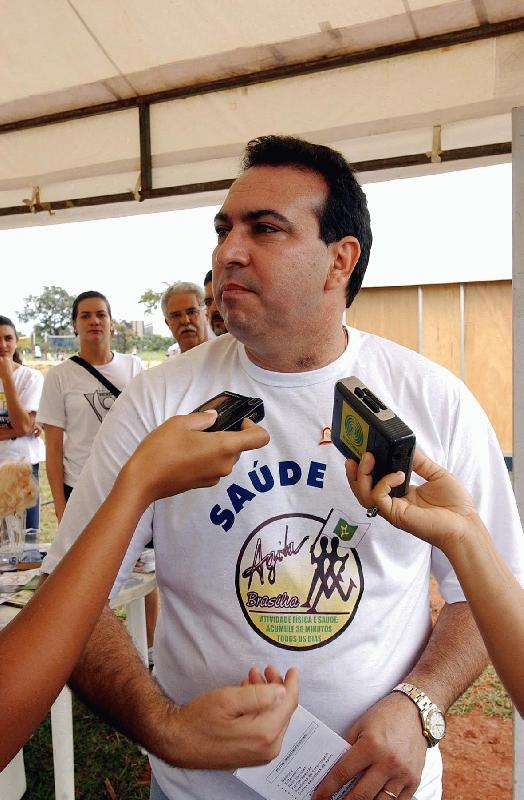 Ex-Secretário de Saúde Arnaldo Bernardino Alves