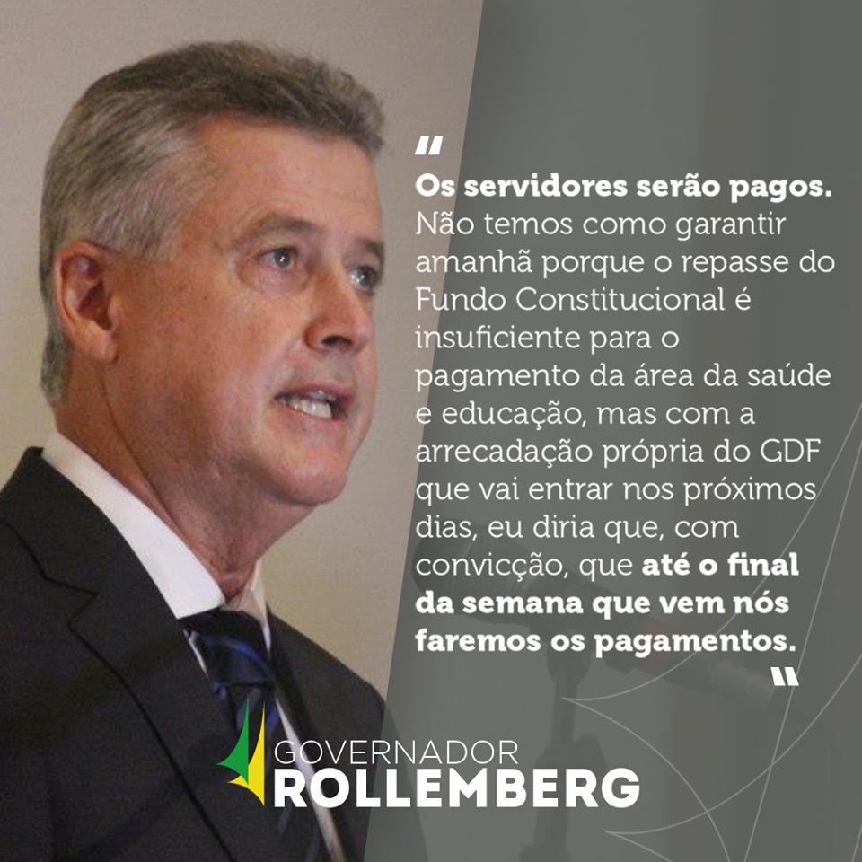 Rodrigo Rollemberg governador