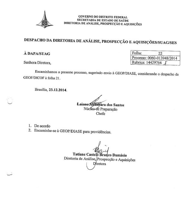 Secretaria de Estado de Saúde do Distrito Federal