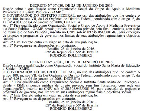 Nº 17, terça-feira, 26 de janeiro de 2016 Diário Oficial do Distrito Federal PÁGINA 3