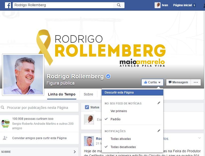 Rollemberg facebook