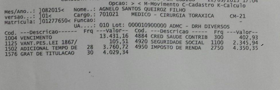 MPDFT | Servidora pública deve perder o cargo por improbidade administrativa ao beneficiar ex-governador Agnelo Queiroz com salário aumentado
