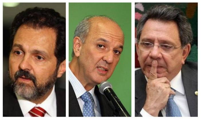 Agnelo, Arruda, Filippelli e Claudio Monteiro