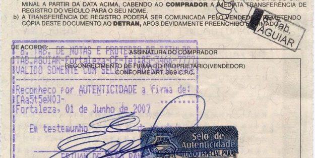 Fim do reconhecimento de firma e da autenticação em documentos produzidos no Brasil e instituição da Carta de Serviços ao Usuário