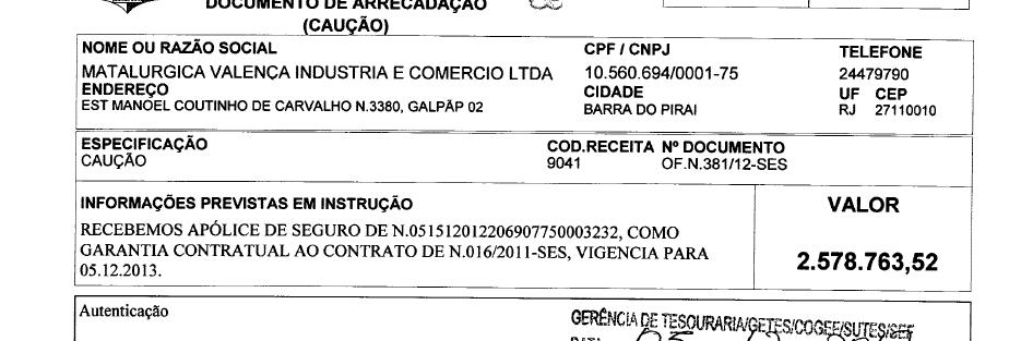 Metalúrgica Valença Indústria e Comércio, empresa Kompazo e NHJ do Brasil Containers Ltda se unem para o crime contra a saúde pública