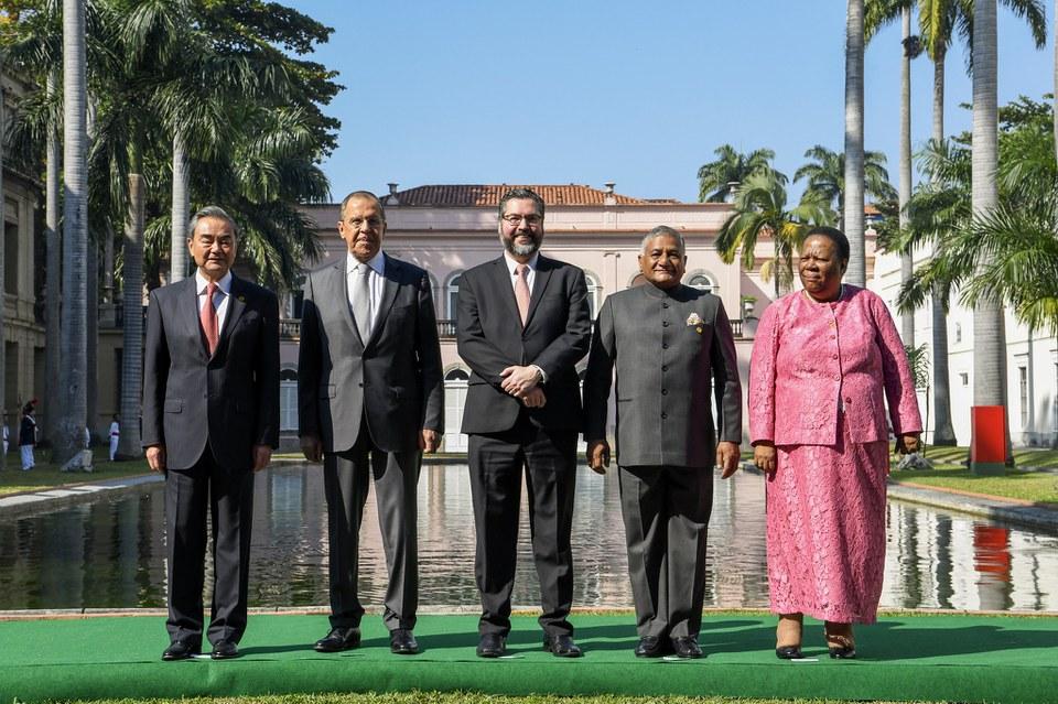 Brasil, Rússia, Índia, China e África do Sul