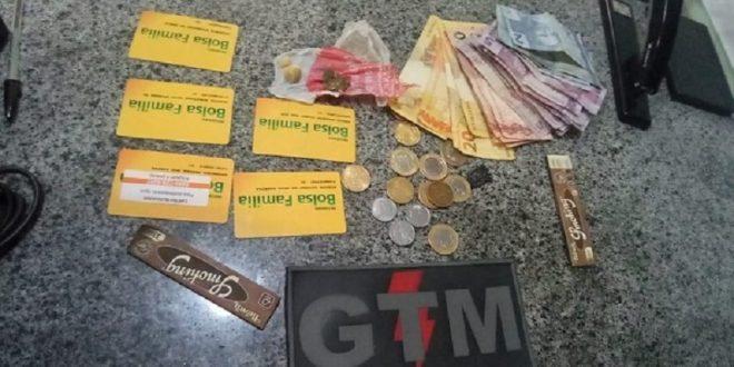 drogas compradas com cartão do Bolsa Família.