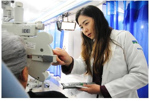 Consultório Itinerante de Oftalmologia do Hospital Universitário de Brasília (HUB-UnB)