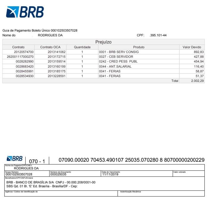 BRB - Banco de Brasilia S.A. (Banco de Brasília)