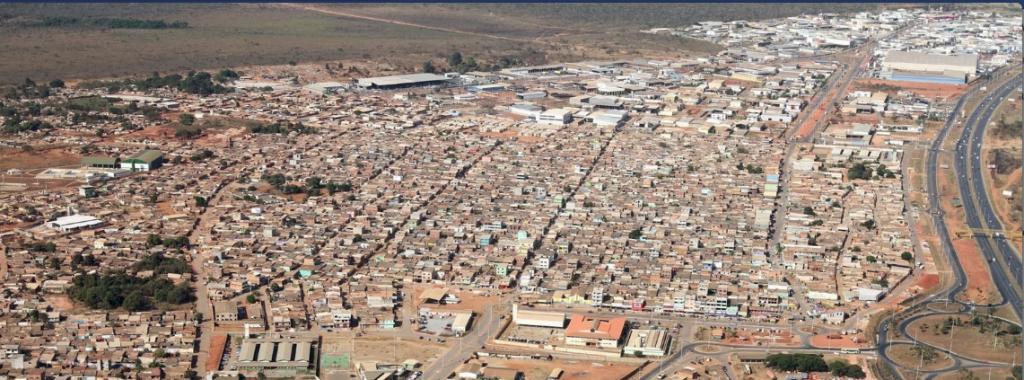 Cidade Estrutural compõe o Setor Complementar de Indústria e Abastecimento– SCIA.