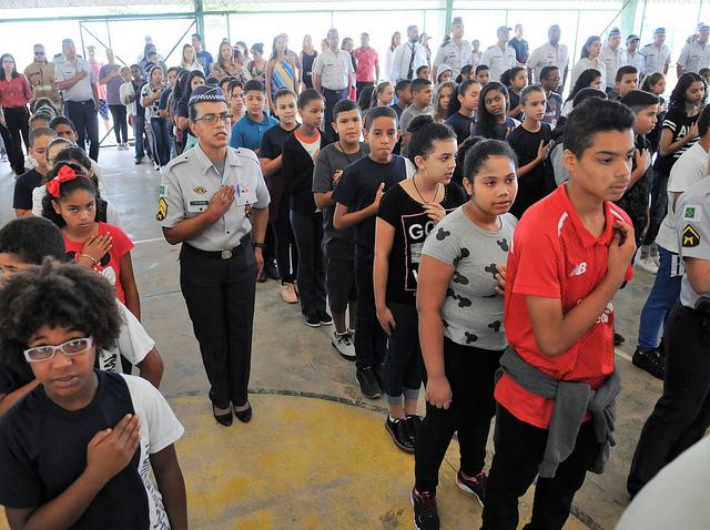 Escolas militarizadas no DF