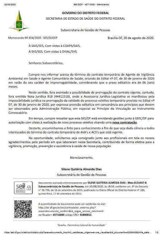 AGENTE  COMUNITÁRIO  DE  SAÚDE  -  ACS  e  AGENTE  DE  VIGILÂNCIA  AMBIENTAL  EMSAÚDE  -  AVA- CONTRATAÇÃO  POR  TEMPO  DETERMINADO  PARA  ATENDER  ANECESSIDADE  TEMPORÁRIA  DE  EXCEPCIONAL  INTERESSE  PÚBLICO