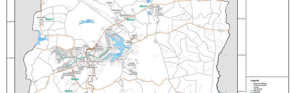 Governador Ibaneis em ousado projeto de levar o Metrô à todas cidades do DF
