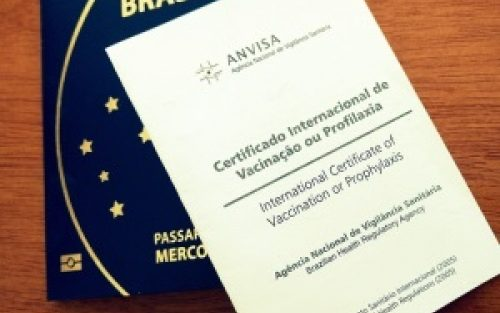 Viajantes internacionais terão que apresentar vacinação contra Covid-19