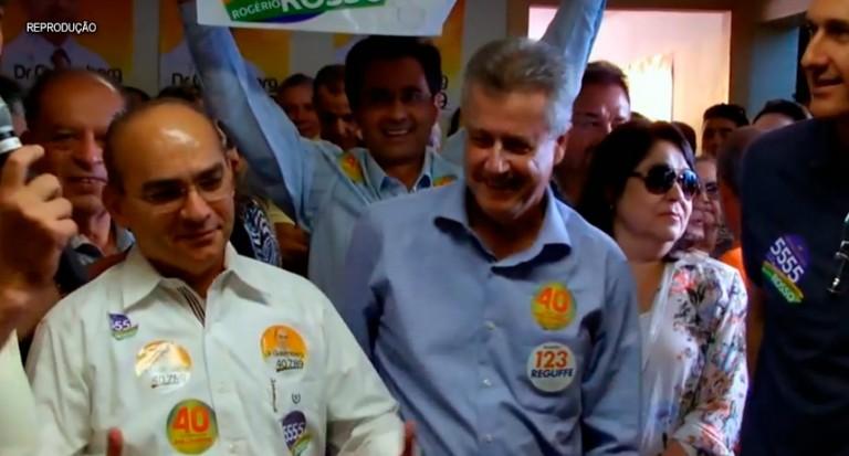 Gutemberg Fialho  presidente da Federação Nacional dos Médicos e do Sindicato dos Médicos do DF em campanha com Rollemberg (PSB)