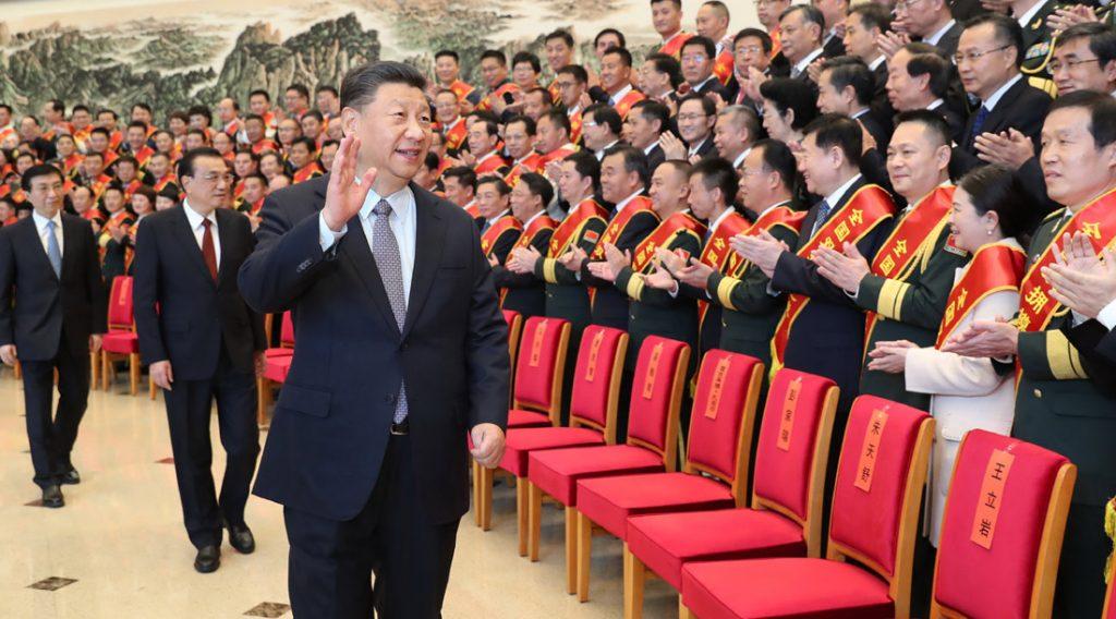 Xi Jinping reuniu-se com representantes da Conferência de Nomenclatura de Unidades de Modelo de Apoio Duplo Nacional (Condado) e Unidades de Modelo de Apoio Duplo e Recomendações Individuais