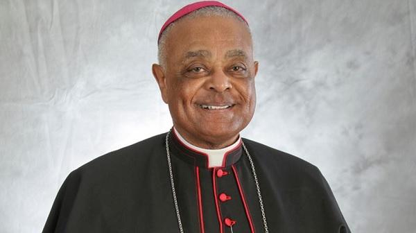 Arcebispo norte-americano Wilton Gregory - Arquidiocese de Atlanta.